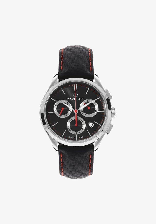 ESSENTIALS  - Cronografo - schwarz-silber