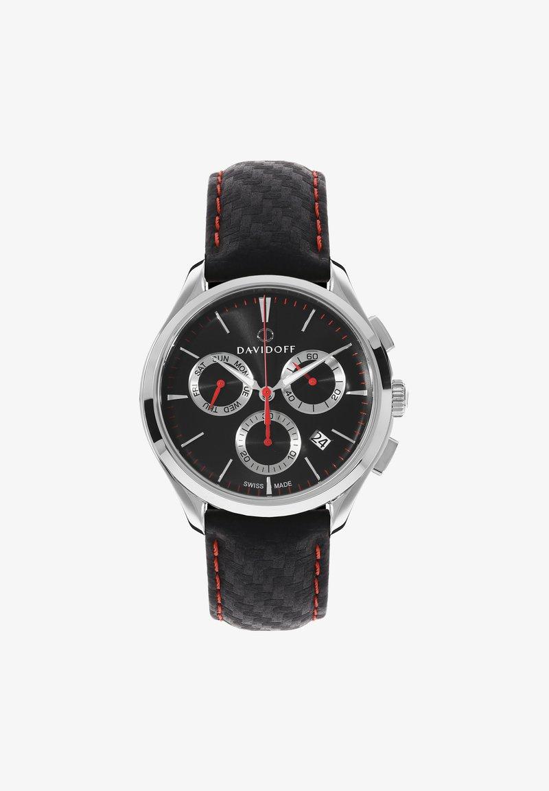 DAVIDOFF - ESSENTIALS  - Chronograph watch - schwarz-silber