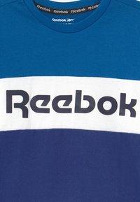 Reebok - COLOR BLOCK - Triko spotiskem - royal - 2