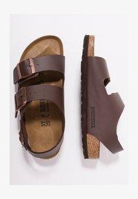 Birkenstock - MILANO - Sandały - dark brown - 1