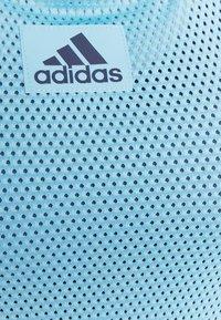 adidas Performance - TANK - T-shirt sportiva - hazel blue/crew navy - 2