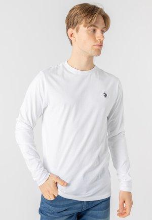 BROLIN LONG SLEEVE  - Långärmad tröja - white