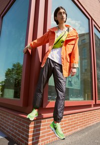 Nike Sportswear - WAFFLE ONE - Trainers - electric green/black/mean green/hyper crimson-white-orange - 0