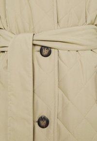 Freequent - URBAN - Classic coat - beige sand - 5