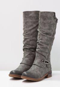 Rieker - Winter boots - smoke/nero - 2