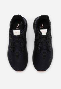 Puma - PLATINUM SHIMMER - Sports shoes - black/peachskin - 3