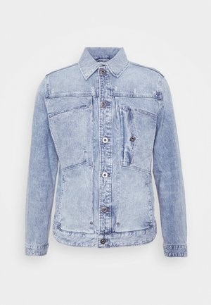 SCUTAR NW SLIM JKT - Denim jacket - sun faded arctic