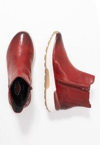 Gabor - ROLLING SOFT - Ankelboots - dark red - 3