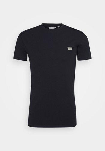 SUPER SLIM FIT - Basic T-shirt - ink blu