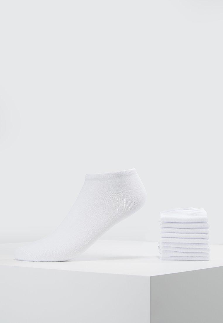 s.Oliver - ESSENTIAL SNEAKER 10 PACK UNISEX  - Socks - white