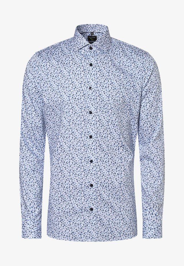 Shirt - weiß hellblau