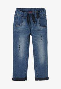 s.Oliver - Straight leg jeans - blue denim stretch - 0