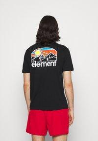 Element - SUNNET - T-shirt print - flint black - 2