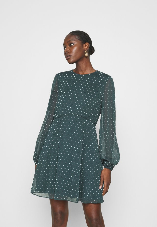 KOBIE DRESS - Vardagsklänning - dark green