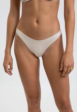 NOUMEA HI CUT - Bikini bottoms - beige