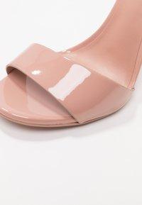 Call it Spring - DELLMAR VEGAN - High heeled sandals - light brown - 2