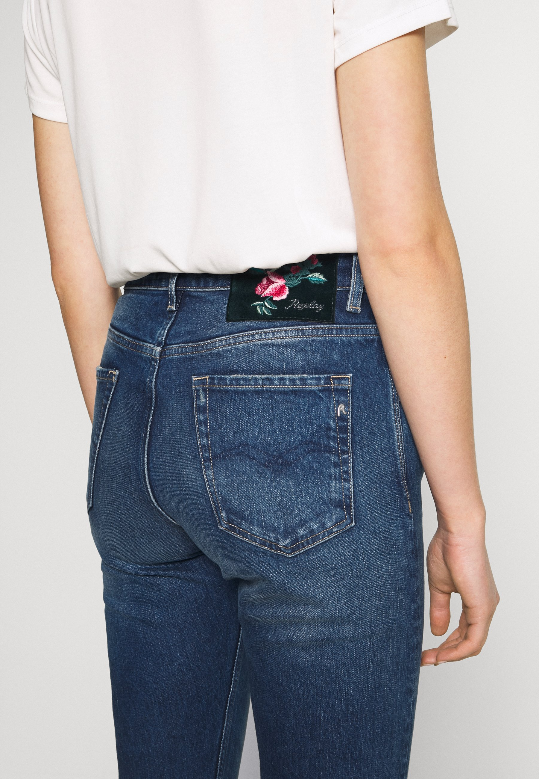Replay MARTY Jeans relaxed fit light blue Zalando.se