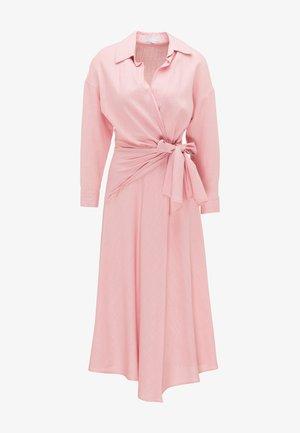 Košilové šaty - rosa