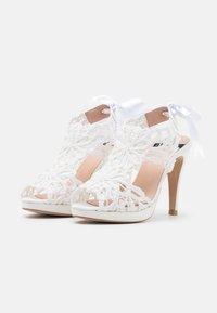 LAB BY AG - Sandalen met plateauzool - nupcial - 2