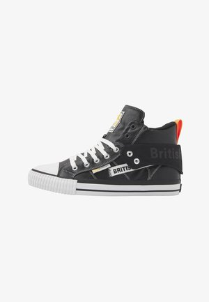 ROCO TAG - Sneakers - black/neon orange