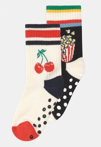Happy Socks - POPCORN CHERRY 2 PACK UNISEX - Socks - multi - 0
