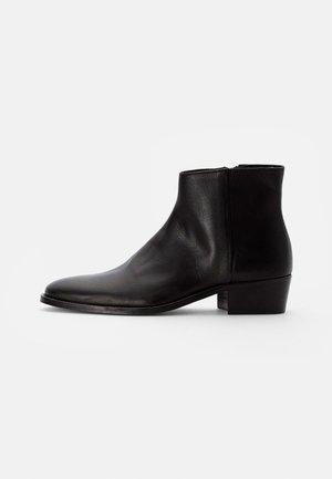 HOXTON LOW INSIDE ZIP - Korte laarzen - black