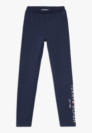 ESSENTIAL  - Leggings - Trousers - blue