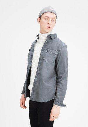 JJVSHERIDAN SLIM FIT - Overhemd - light grey denim