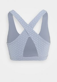 Cotton On Body - WORKOUT CUT OUT CROP - Light support sports bra - baltic blue - 1