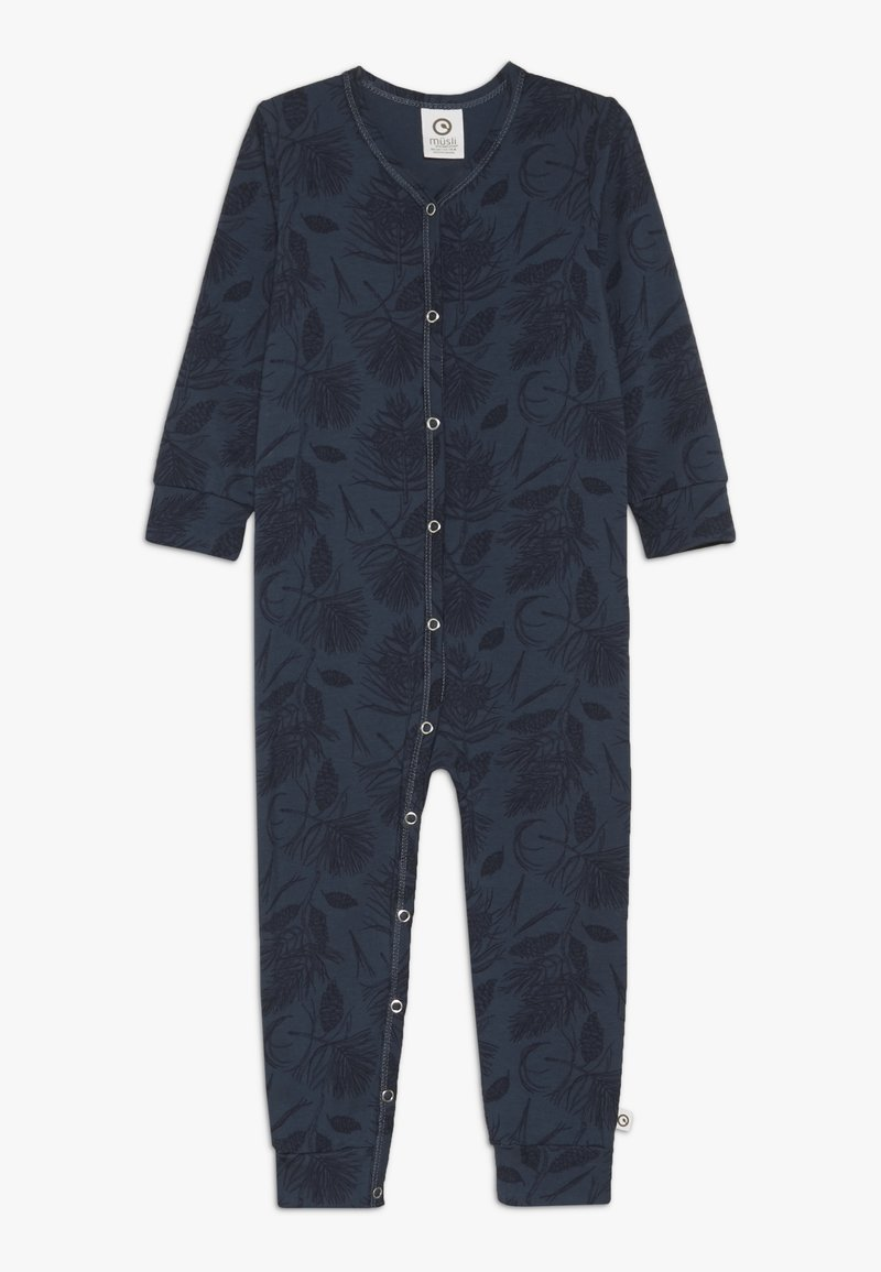 Müsli by GREEN COTTON - PINE BABY - Overall / Jumpsuit - midnight