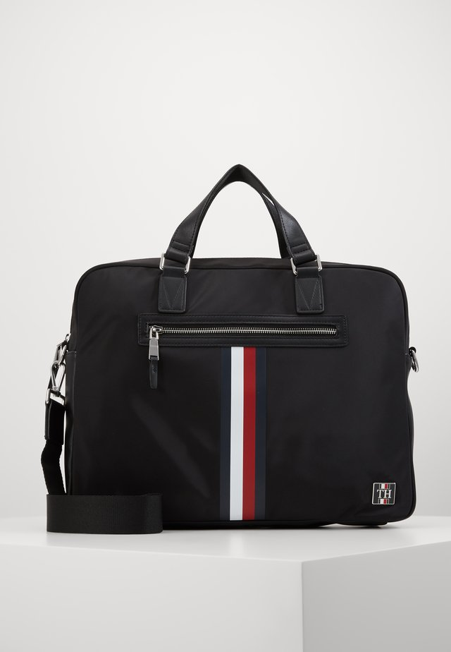 CLEAN COMPUTER BAG - Briefcase - black