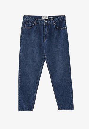 IM FIVE-POCKET-STIL - Džíny Straight Fit - stone blue denim