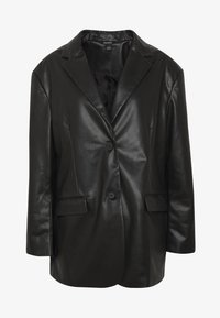 Monki - GRACE - Faux leather jacket - black - 5