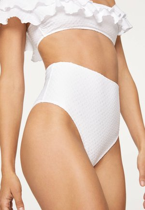 PLUMETI  30735501 - Spodní díl bikin - white