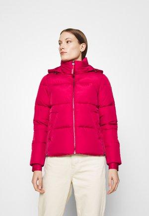 ELASTIC LOGO SORONA SHORT JACKET - Winter jacket - red