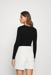 Missguided - NECK BODY - Pullover - black - 2