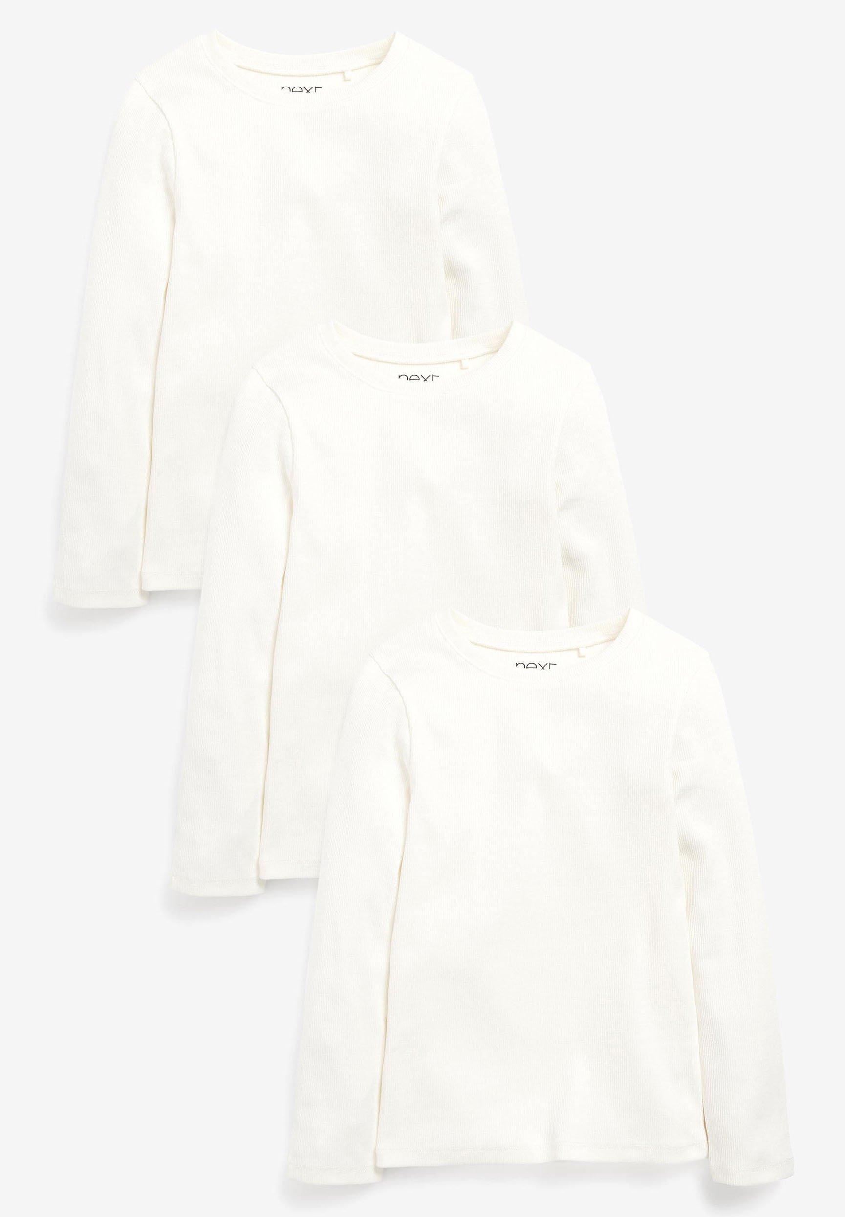 Bambini 3 PACK RIB LONG SLEEVE - Maglietta a manica lunga