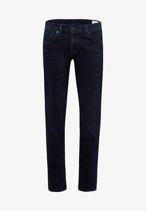 JAYDEN - Jeans Tapered Fit - blue black used baffies
