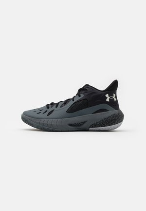 HOVR HAVOC 3 - Basketbalschoenen - pitch gray