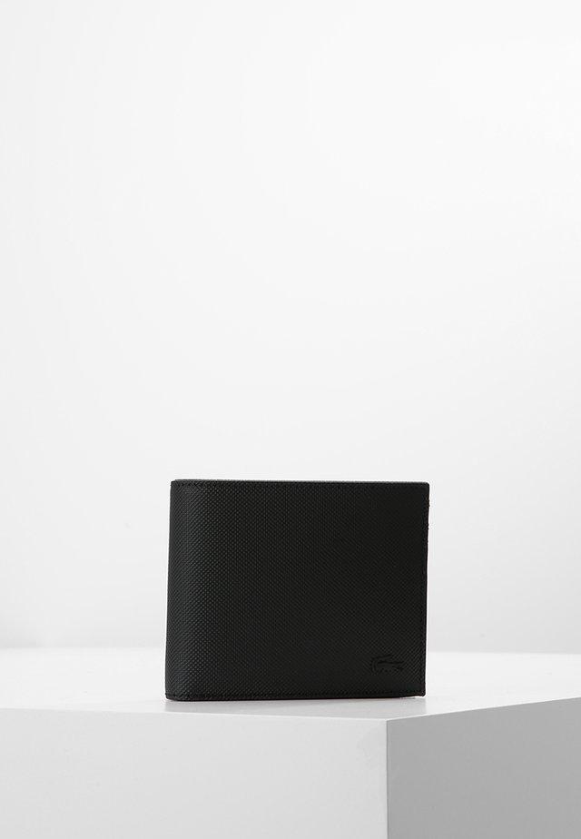 BILLFOLD COIN - Portefeuille - black