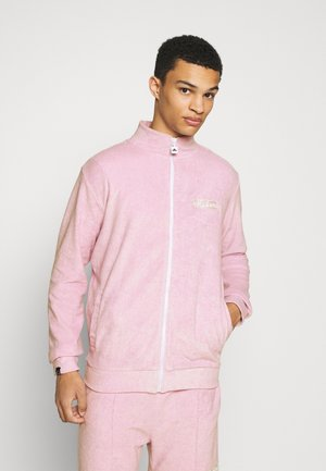 TCC X ELLESSE MENS TOWELLED TRACK JACKET - Giacca in pile - lilac