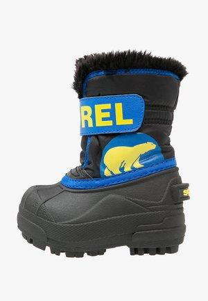 Winter boots - black/super blue