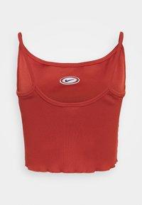 Nike Sportswear - TANK CROP - Topper - firewood orange - 1