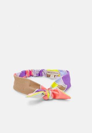 HEAD BAND - Ear warmers - giallo/viola