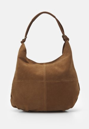 LEATHER - Torba na zakupy - cognac