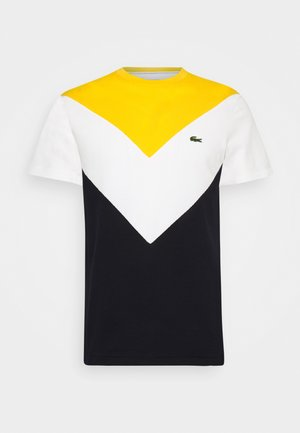 REGULAR FIT  - T-shirt imprimé - abysm/flour