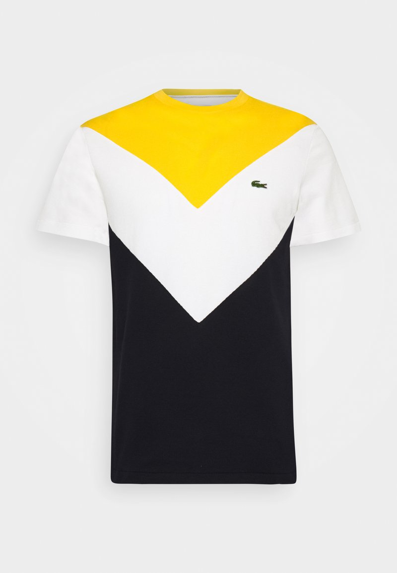 Lacoste - REGULAR FIT  - T-shirt imprimé - abysm/flour