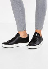 ECCO - SOFT LADIES - Sneakersy niskie - black - 0