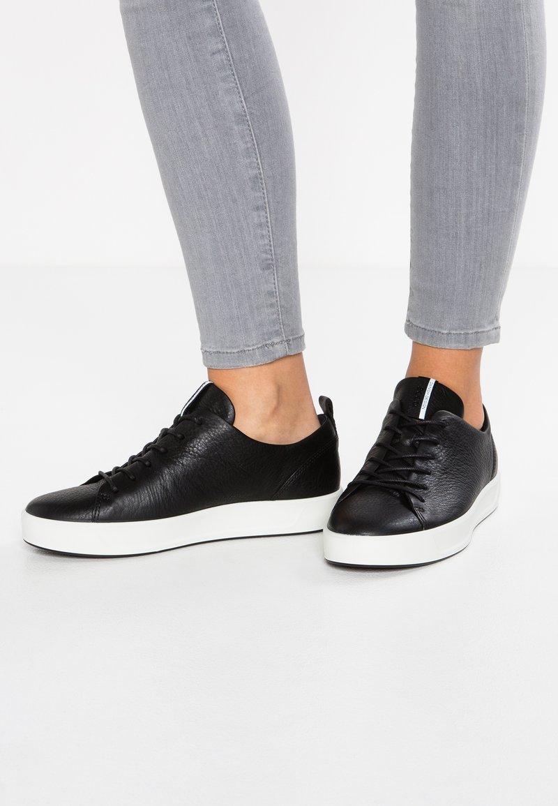 ECCO - SOFT LADIES - Sneakersy niskie - black