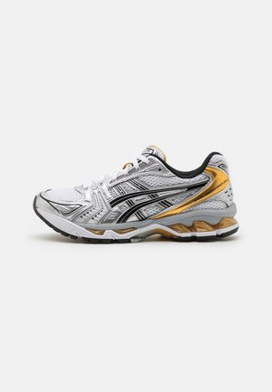GEL-KAYANO 14 UNISEX - Sneaker low - white/pure gold